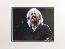 Barry Gibb Autograph Photo Signed